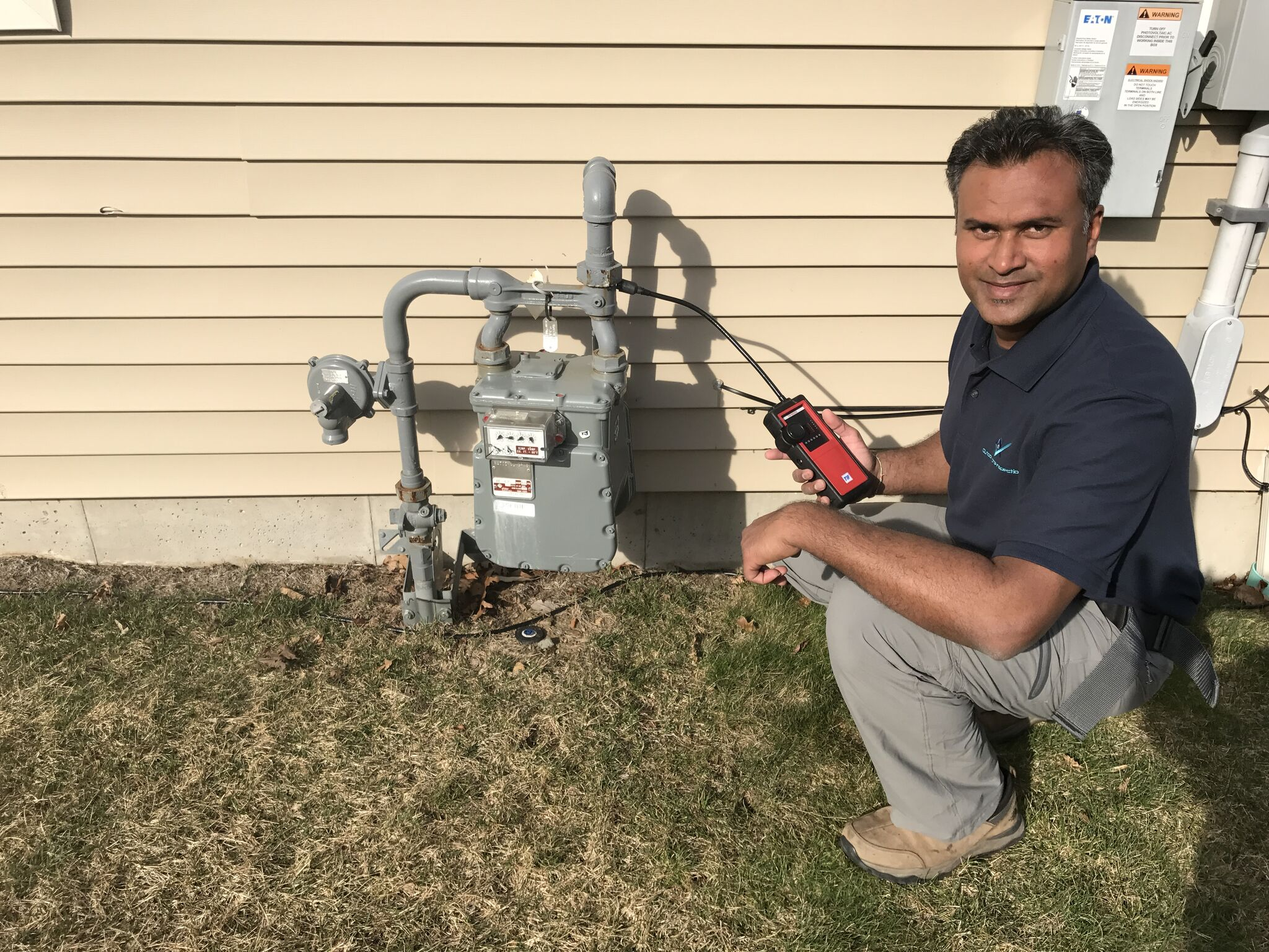 Home Inspector Mohan Singh of Outlook Home Inspection